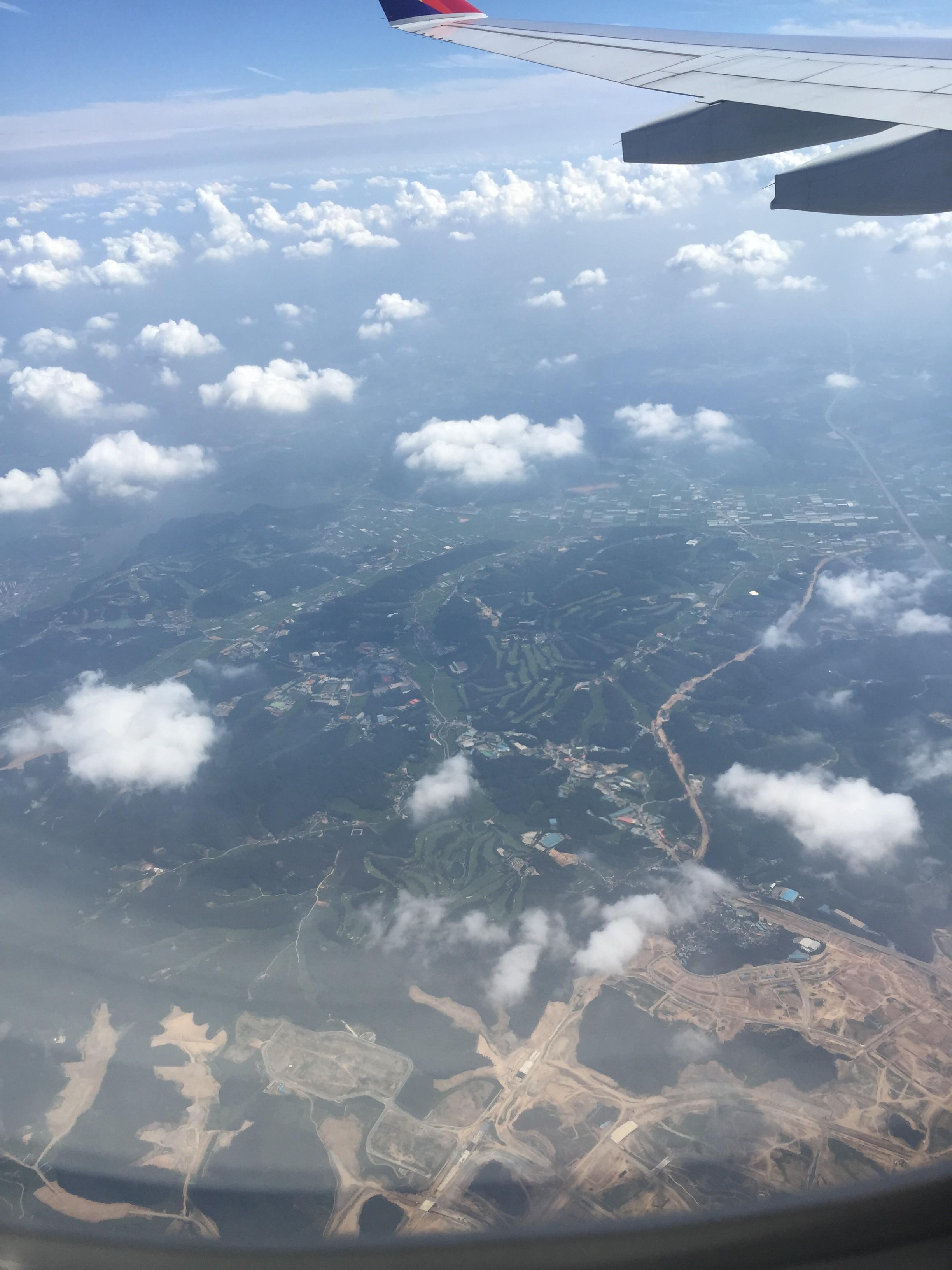 アシアナ航空で韓国へ
